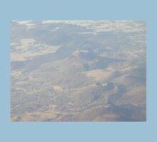 Puy de Dôme, from plane Kids Tee