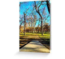 Dirt Path to the Basket Greeting Card