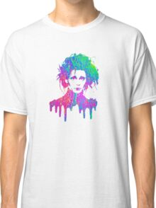 Edward Scissorhands Psychedelic Draw Classic T-Shirt
