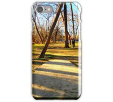 Disc Golfers Ready to Play iPhone Case/Skin