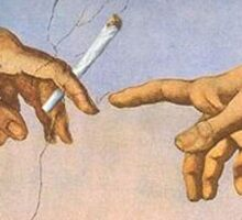 The Creation of Joints Sticker