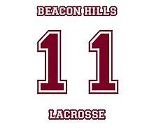 Beacon Hills Jersey (Scott McCall) Photographic Print