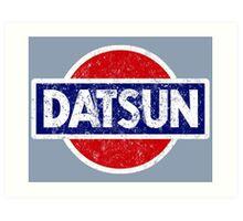 Datson - retro Art Print