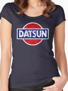 Datson - retro Women's Fitted Scoop T-Shirt