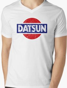 Datson - retro Mens V-Neck T-Shirt