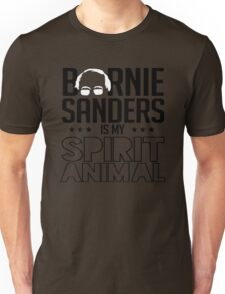 Bernie Sanders is my spirit animal Unisex T-Shirt