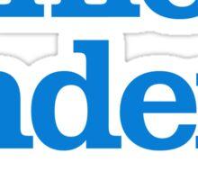 Ernie Anders (Bernie cuts the B.S.) Sticker