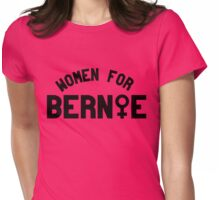 Women for Bernie Sanders Womens Fitted T-Shirt