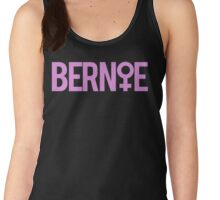 Women Support Bernie Sanders Women's Tank Top