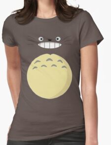 Totoro 2 Womens Fitted T-Shirt