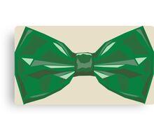 Vector Bow Tie  Canvas Print