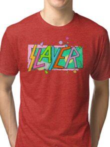 Beach Slayer! Tri-blend T-Shirt