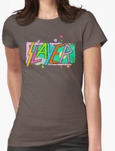 Beach Slayer! Womens Fitted T-Shirt
