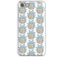 Rick Sanchez - Rick and Morty Pattern iPhone Case/Skin