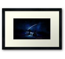 One Sky, One Destiny Framed Print