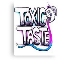 Toxic Taste Canvas Print
