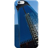 Building the Freedom Tower - One World Trade Center Under Construction iPhone Case/Skin