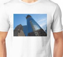 Building the Freedom Tower - One World Trade Center Under Construction Unisex T-Shirt