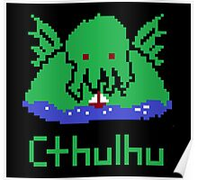 Cthulhu Pixel Poster