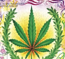 Bank of Ganja Sticker