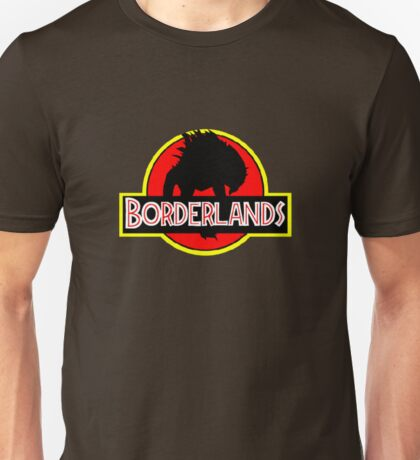 Borderlands Jurassic Park Logo Unisex T-Shirt