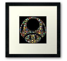 Toad minimalist Framed Print