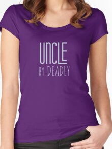 Muppets - Uncle By Deadly Women's Fitted Scoop T-Shirt