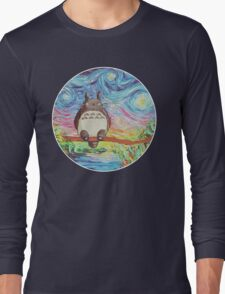 Totoro 3 Long Sleeve T-Shirt