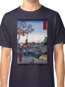 Utagawa Hiroshige The Teahouse with the View of Mt. Fuji Classic T-Shirt