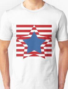 Stars and Stripes Unisex T-Shirt