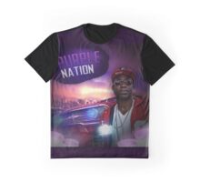 Purple Nation Graphic T-Shirt