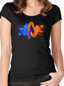 Claw Whirl Women's Fitted Scoop T-Shirt