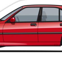 Opel Omega A, Vauxhall Carlton 3000 GSi 24V Red Sticker