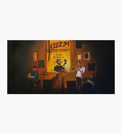 Jazz Club Photographic Print