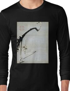 Ito Jakuchu Plum Blossoms Long Sleeve T-Shirt