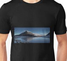 Pen-yr-ole Wen reflected in ice Unisex T-Shirt