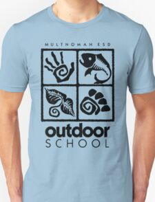 Outdoor School Logo (scb) Unisex T-Shirt