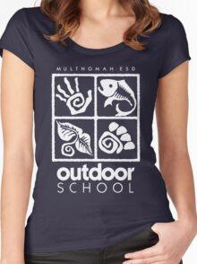 Outdoor School Logo (scw) Women's Fitted Scoop T-Shirt