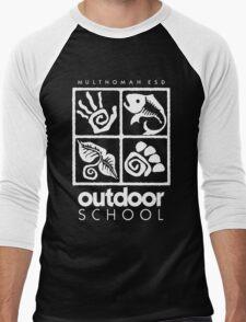 Outdoor School Logo (scw) Men's Baseball ¾ T-Shirt