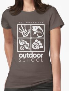 Outdoor School Logo (scw) Womens Fitted T-Shirt