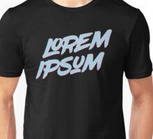 Lorem Ipsum - Pastel Color Unisex T-Shirt