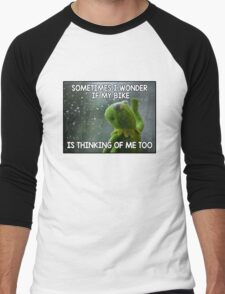 Sometimes I wonder Men's Baseball ¾ T-Shirt