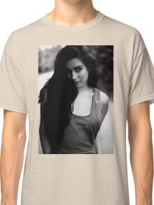 The girl in b&w Classic T-Shirt