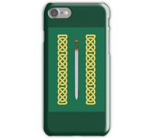 Celtic Sword and Knotwork iPhone Case/Skin