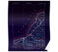 New York NY Silver Creek 136500 1899 62500 Inverted Poster