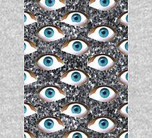 silver glitter eyes Unisex T-Shirt