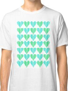 Love Hearts Abstract No.2 Classic T-Shirt