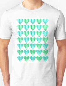 Love Hearts Abstract No.2 Unisex T-Shirt