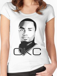 The Ibaka Women's Fitted Scoop T-Shirt