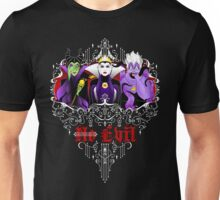 Three Wise Villains (Purple) Unisex T-Shirt